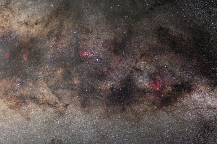 Galactic arm of the Milky Way