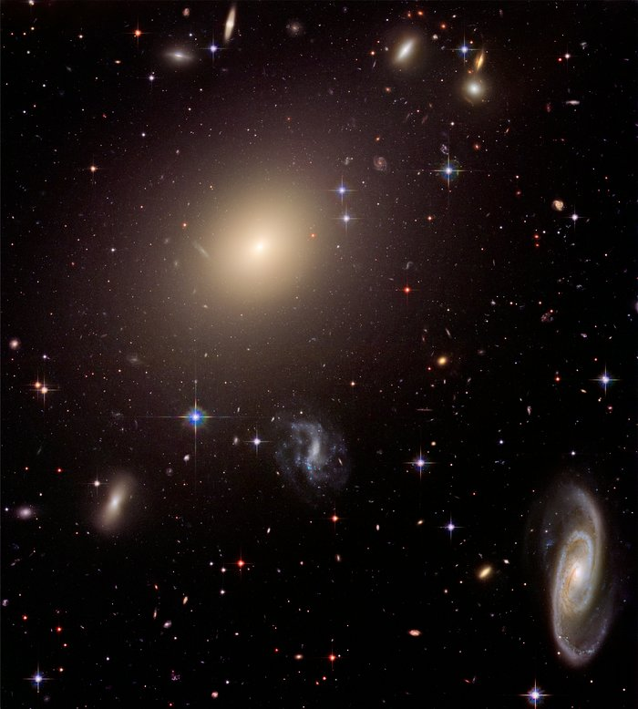 Conjunto de galáxias Abell S0740