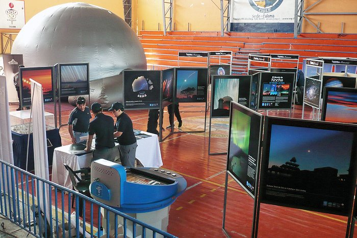 The First International Astronomical Fair in Calama