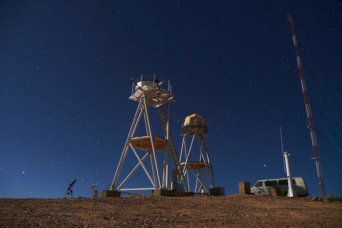 E-ELT site testing — Cerro Armazones / Chile