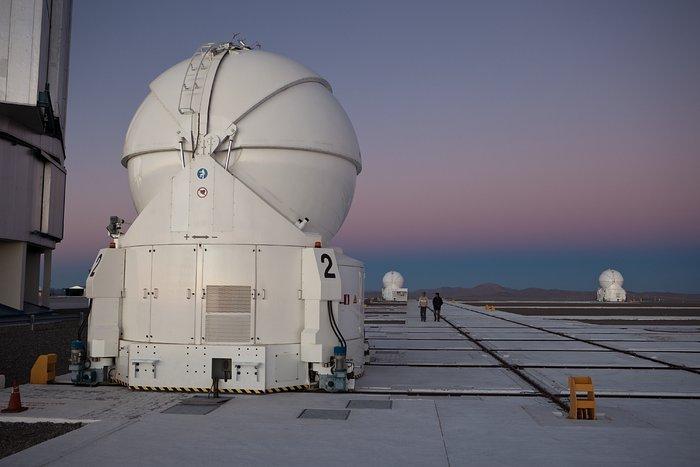 Paranal's Auxiliary Telescopes