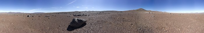 Panorama with Paranal in the distance