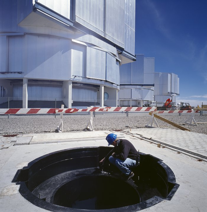 Working at Paranal