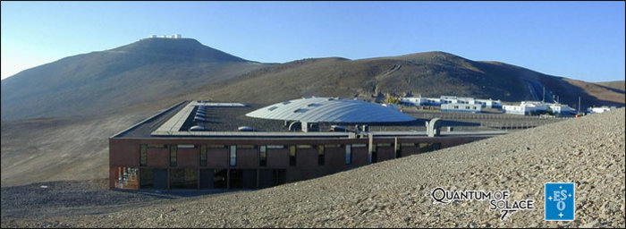 Paranal & Quantum of Solace