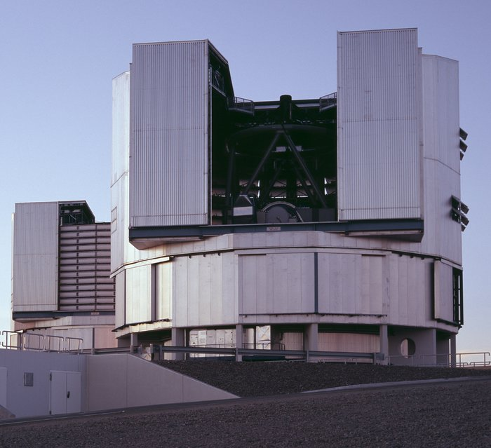 VLT Yepun and Melipal at Cerro Paranal