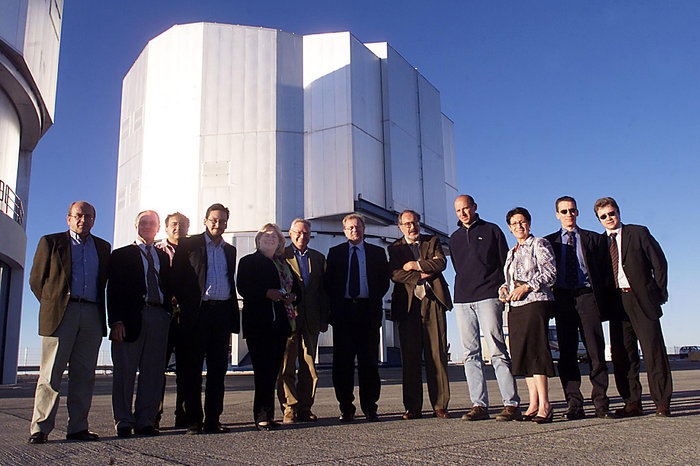 European Parliament Delegation at Paranal
