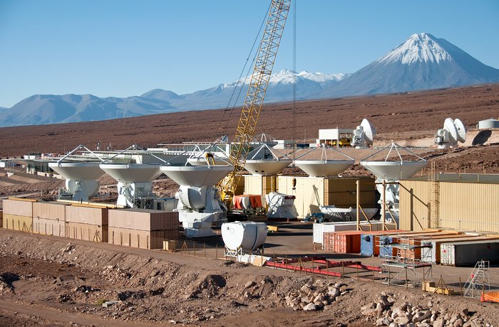 Antenas Europeas en Construcción