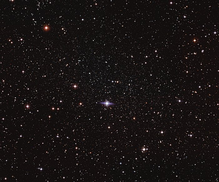 Hiding in plain sight — the elusive Carina dwarf galaxy
