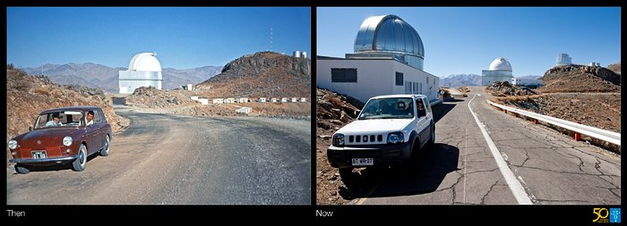 A Drive Through Time — How telescopes, and cars, have changed at La Silla