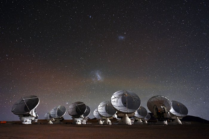Under the spell of the Magellanic Clouds