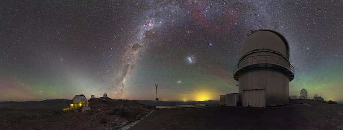 Red sprites at La Silla Observatory
