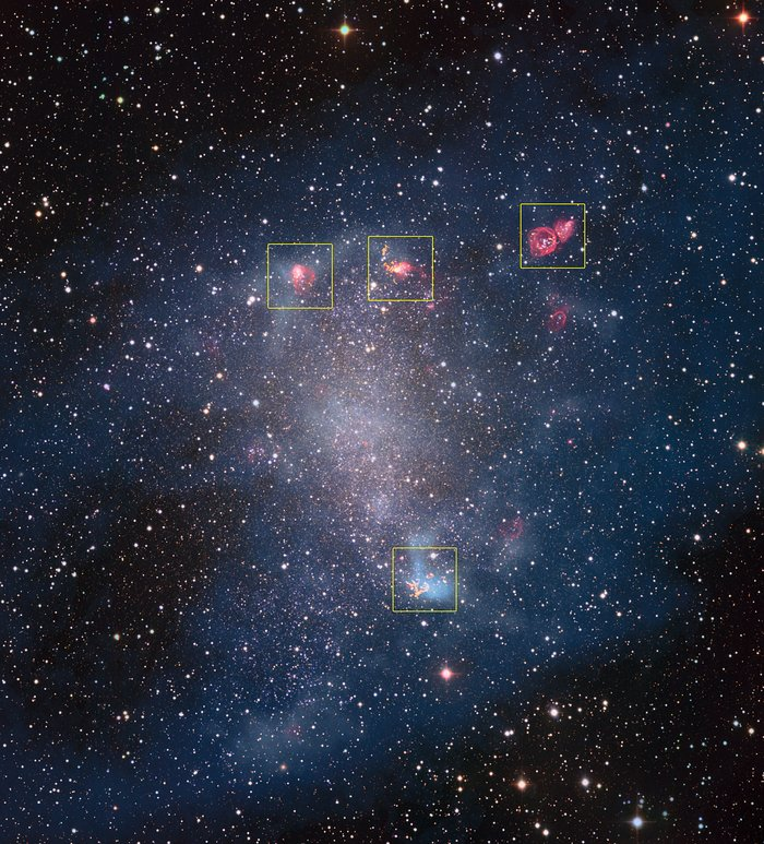 ALMA peers into the hearts of stellar nurseries