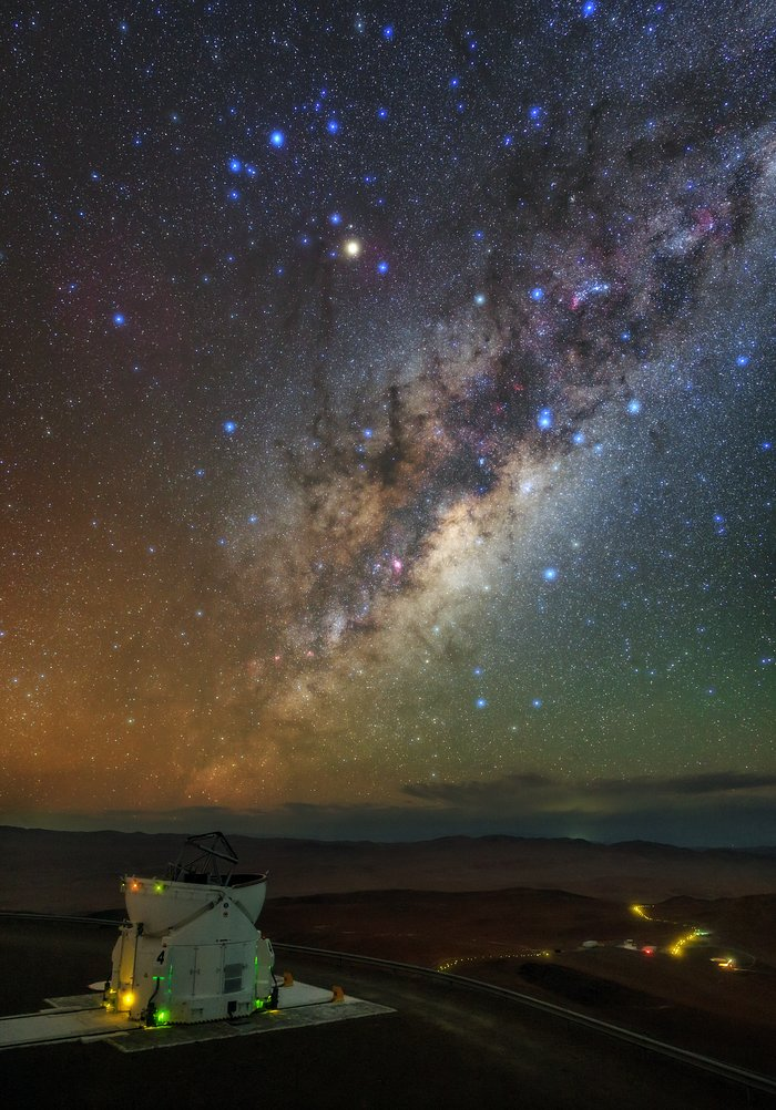 From the Residencia to the Milky Way