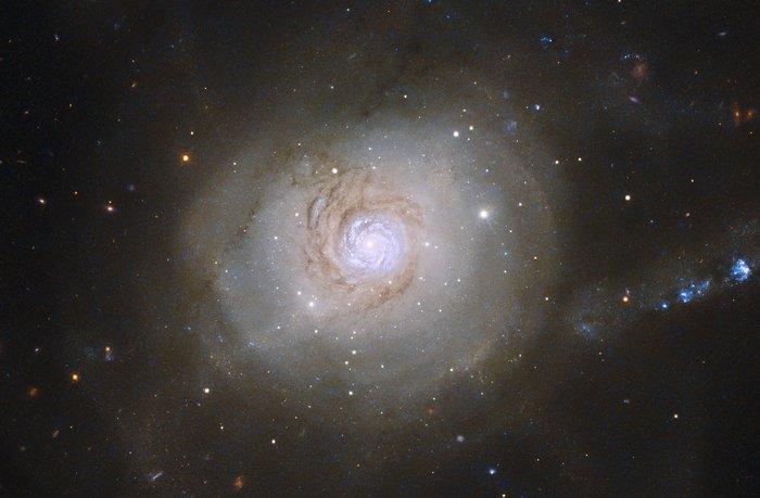 Hubble image of NGC 7252