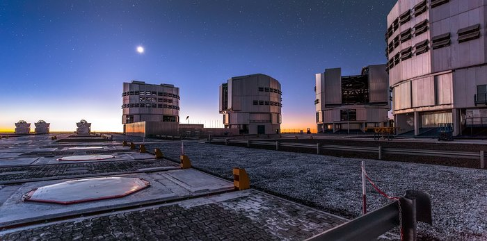 A Twilight Tour of Paranal