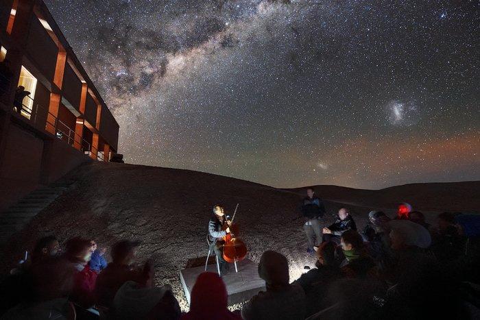 Musik unter der Milchstraße