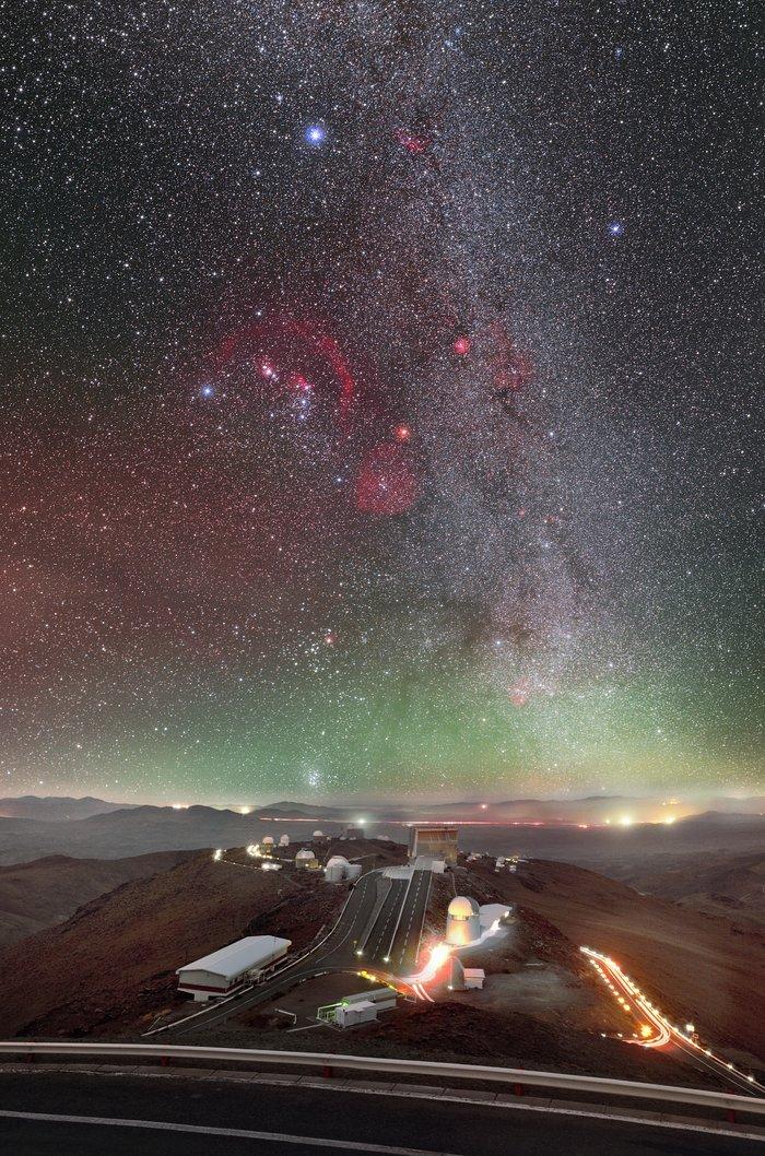 Orion a La Silla