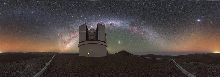 Une vue cosmique