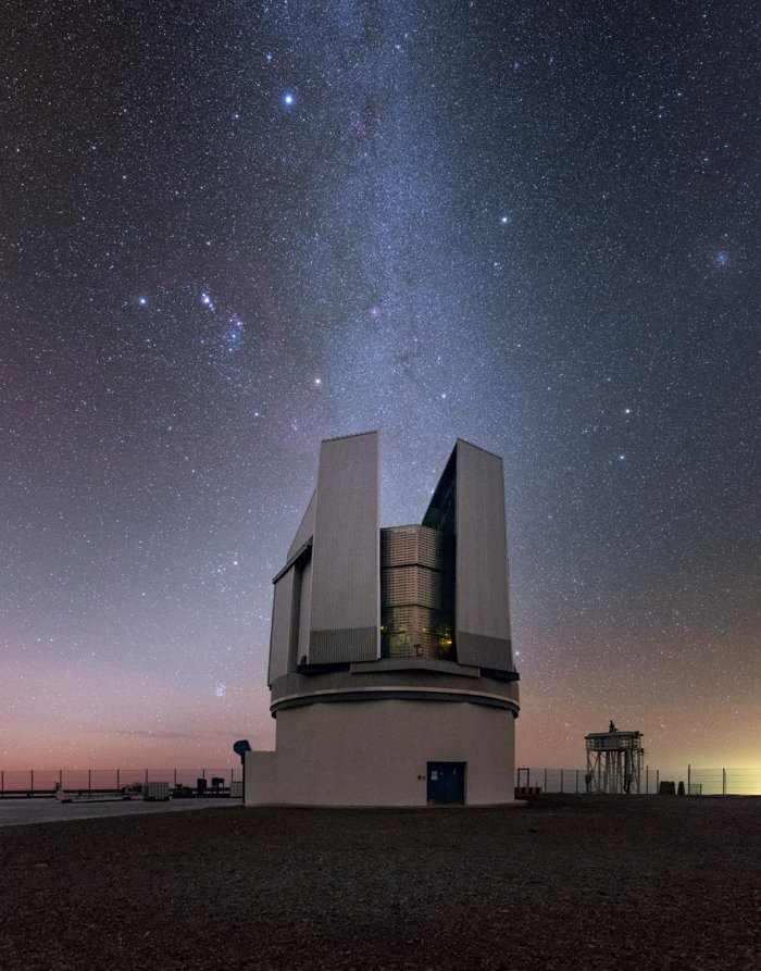 Orion Watches over Paranal