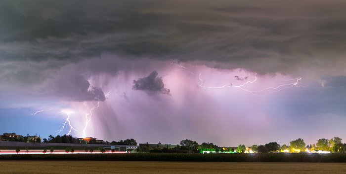 Lightning over Bavaria