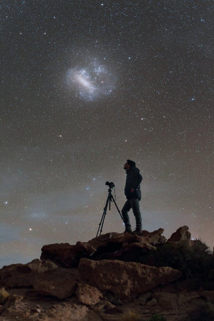Observando o céu austral
