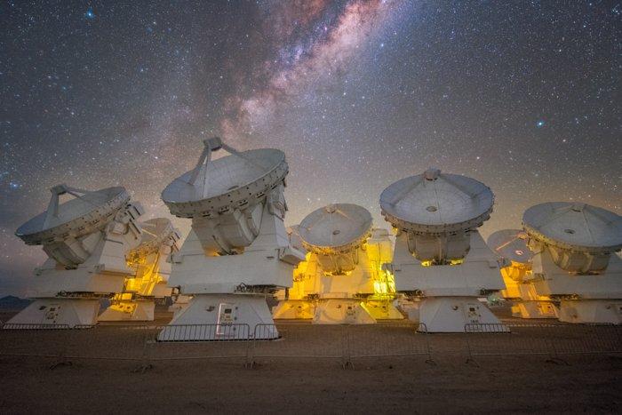Les astronomes millimétriques