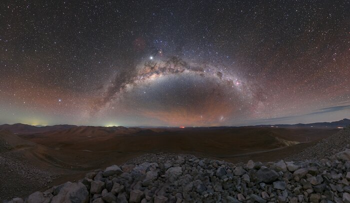 Milky Way Across the Desert