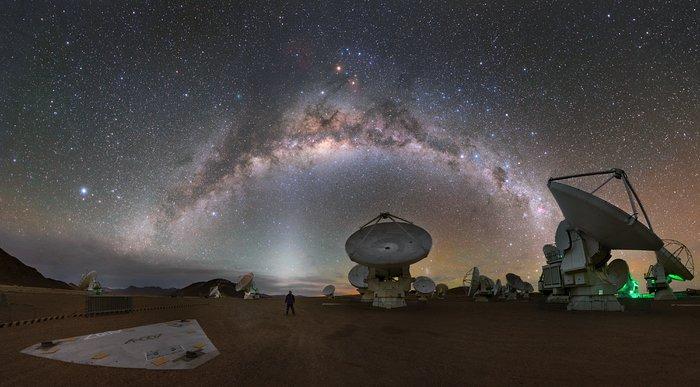 In een kosmische wonderwereld