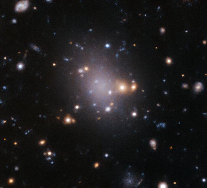 A failed galaxy