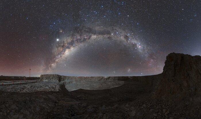 A casa do ELT do ESO no deserto
