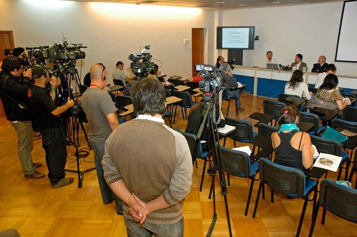 Gliese press conference
