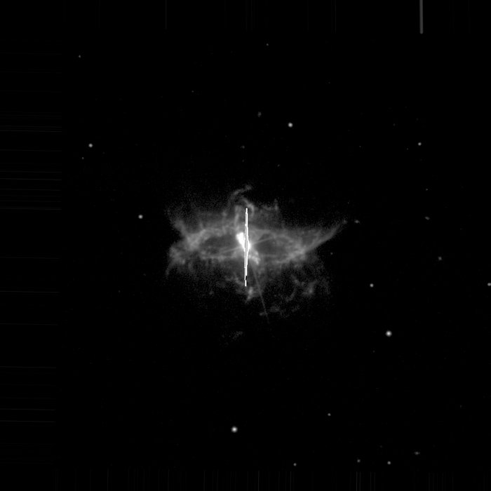 R Aquarii observed using the New Technology Telescope