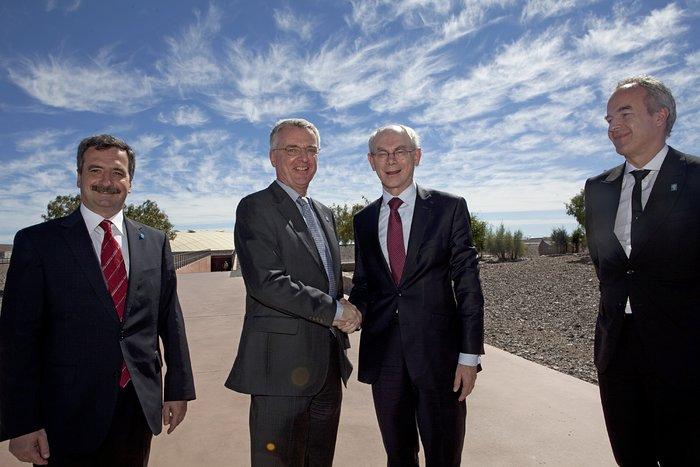 Van Rompuy visits