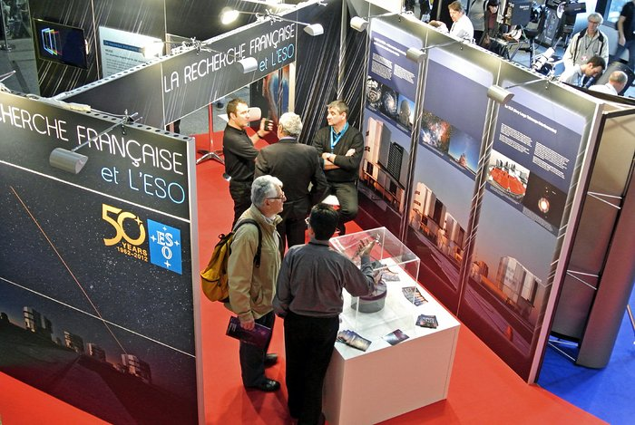 ESO's stand at