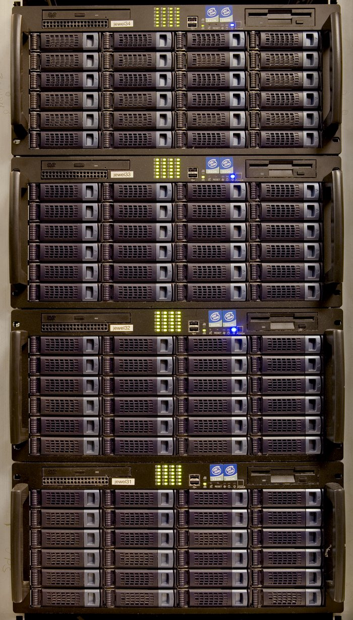 Science archive racks
