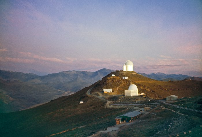 The ESO 3.6-metre telescope at La Silla Observatory