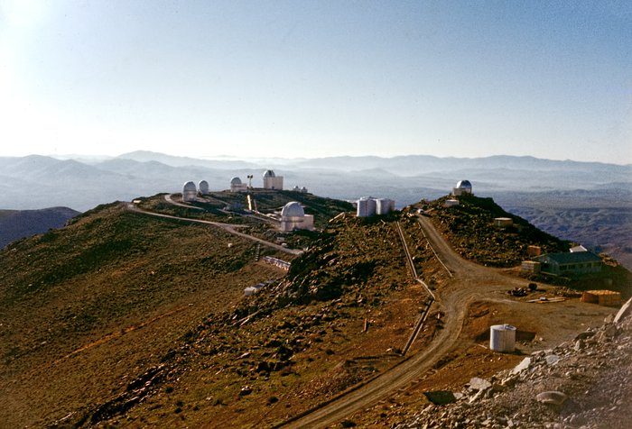 A view of La Silla Observatory