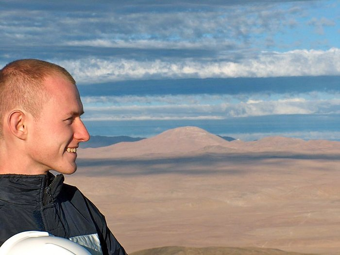 Young Astronomer visits ESO's Paranal Observatory
