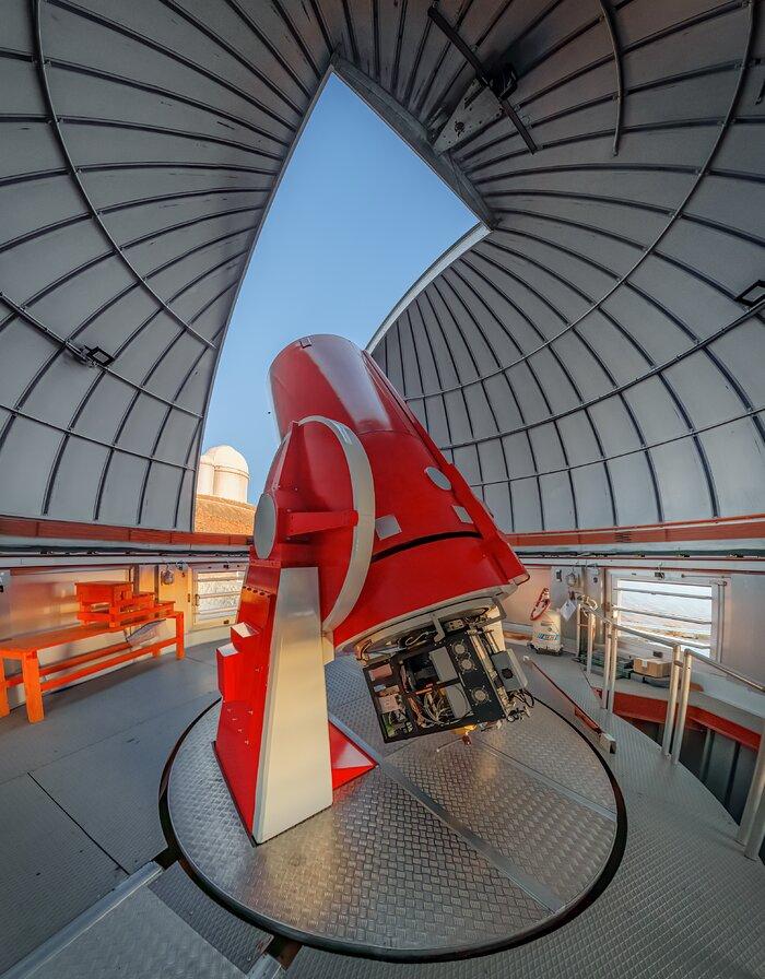 Swiss 1.2-metre Leonhard Euler Telescope at La Silla Observatory