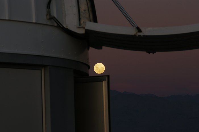 Moon from La Silla