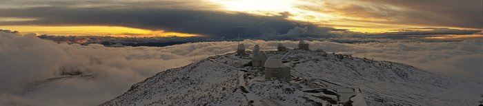 La Silla after a snow storm