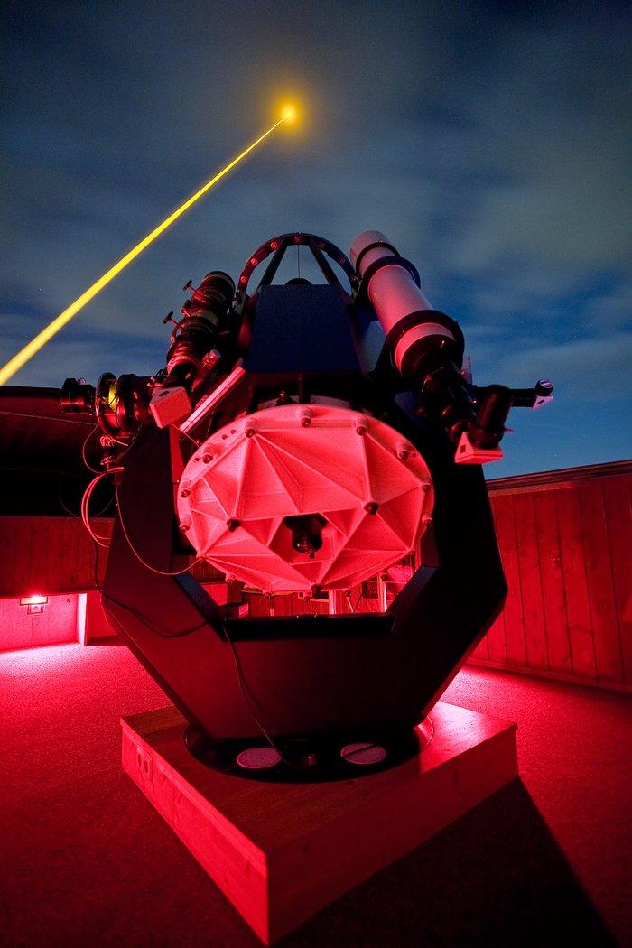 Laser Guide Star testing