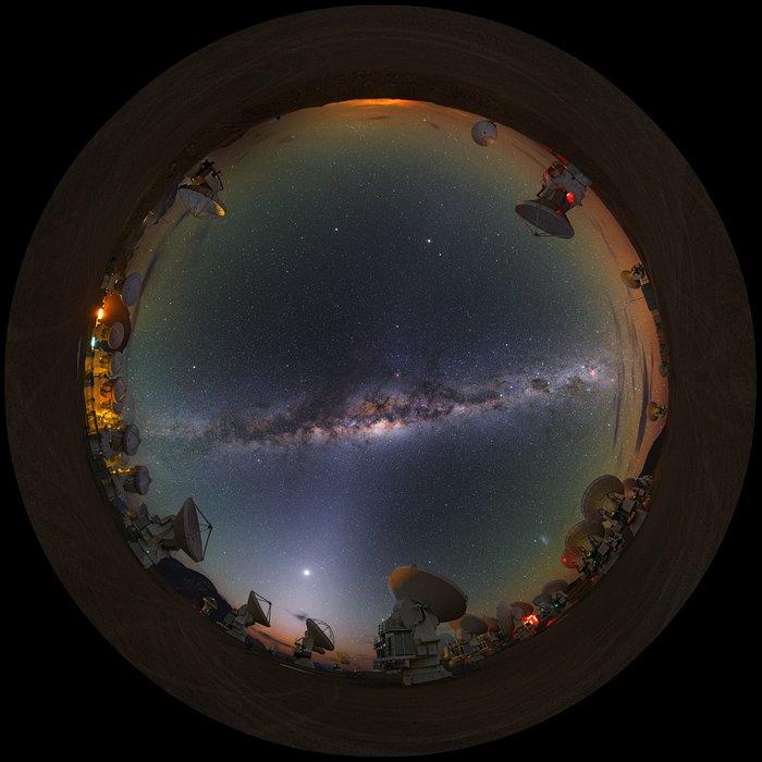 Milky Way at Chajnantor