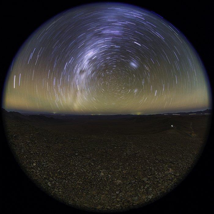 Stars Circle over Cerro Armazones