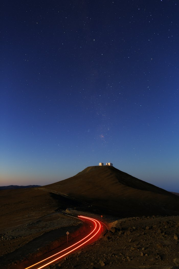 The road to Paranal