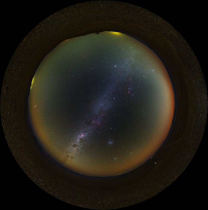 Atacama fish-eye
