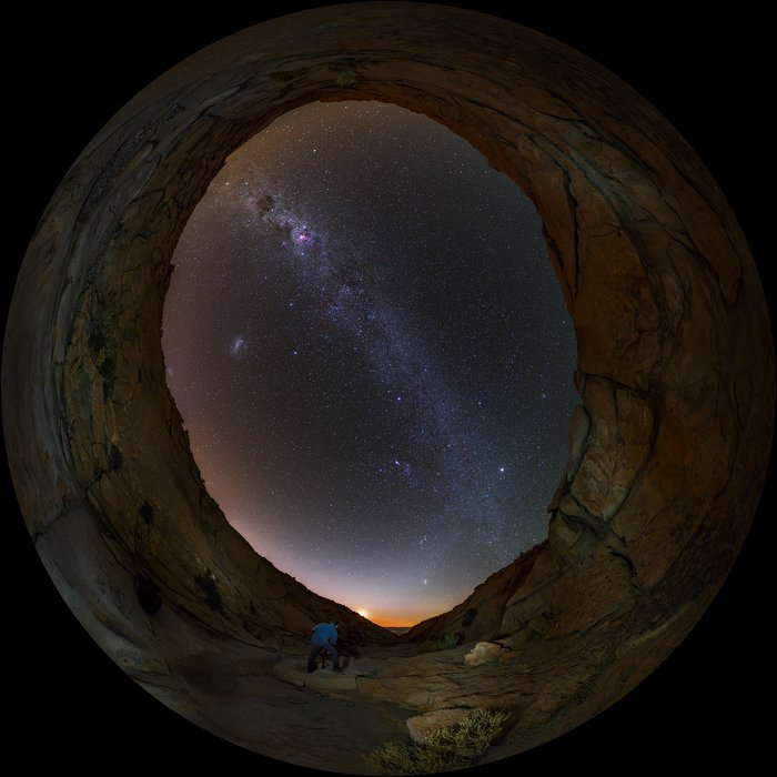 Cosmic Portal from the Atacama Desert