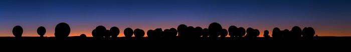 ALMA Sunset Panorama