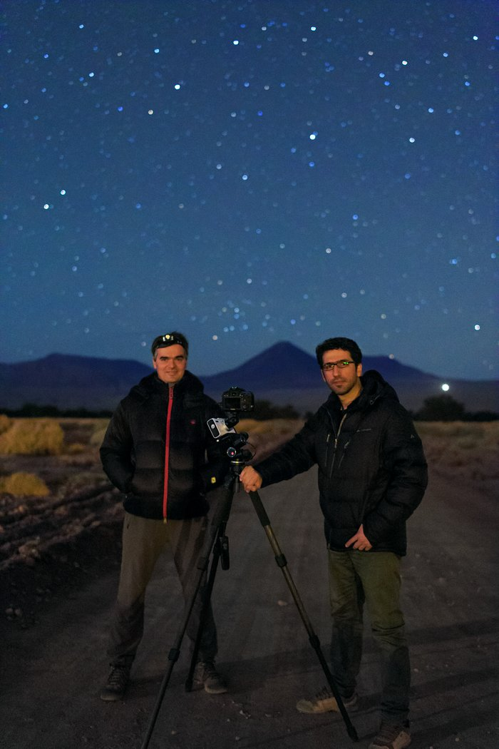 ESO Photo Ambassadors at Chajnantor
