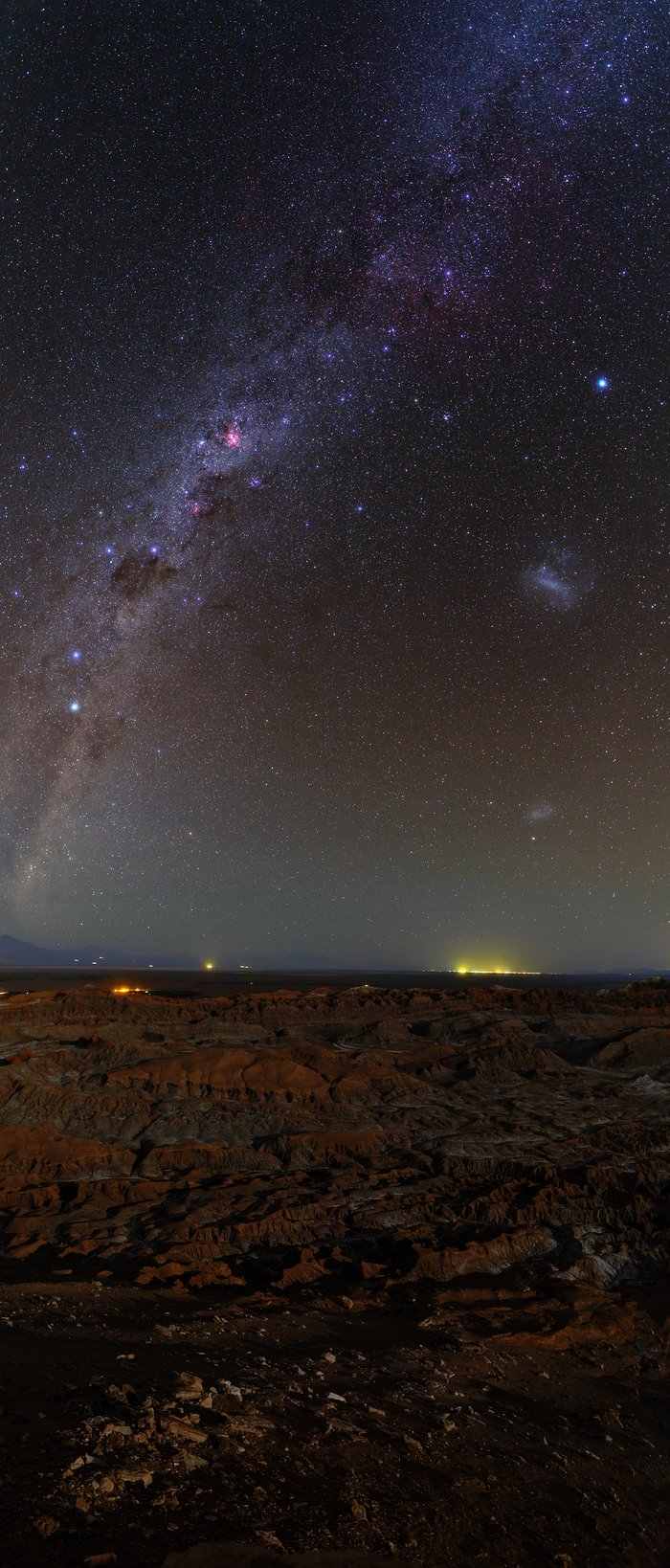 Atacama Milky Way panorama